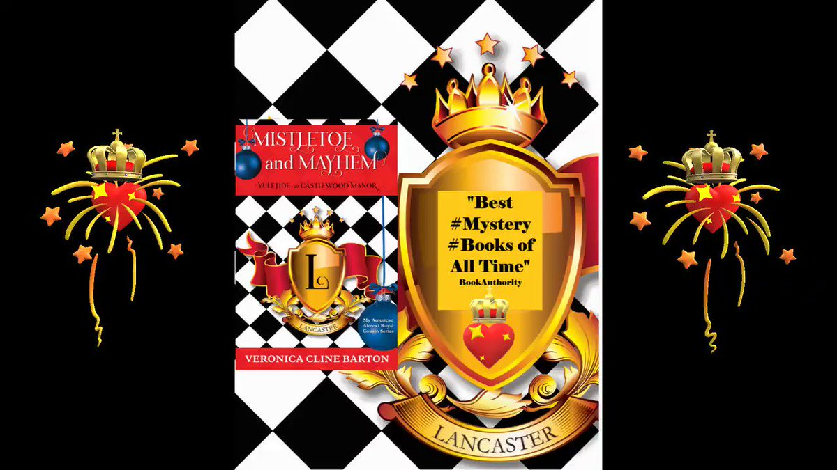 """🎀Mistletoe and Mayhem: Yuletide at Castlewood Manor🎀  """"Best #Mystery #Books of All Time"""" BookAuthority   5⭐️""""...the perfect #holiday read""""💖👑🕵️♀️🍸 #Christmas #NewYearsEve #CozyMystery #Luxury #Romance #Royals #BookLovers #WritersWhoRead #WhatToRead #Books"""