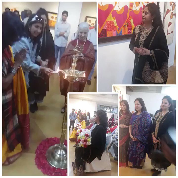 Last art event attended on 8th March at India Habitat Centre. Seeing other forms of art is truly rejuvenating.  Miss all the moments!  @M_Lekhi  #ShovanaNarayan #indiahabitatcentre #art #artoftheday #tbt #throwbackmemories #arteverywhere #artevent #artgram #artlover #arttherapy