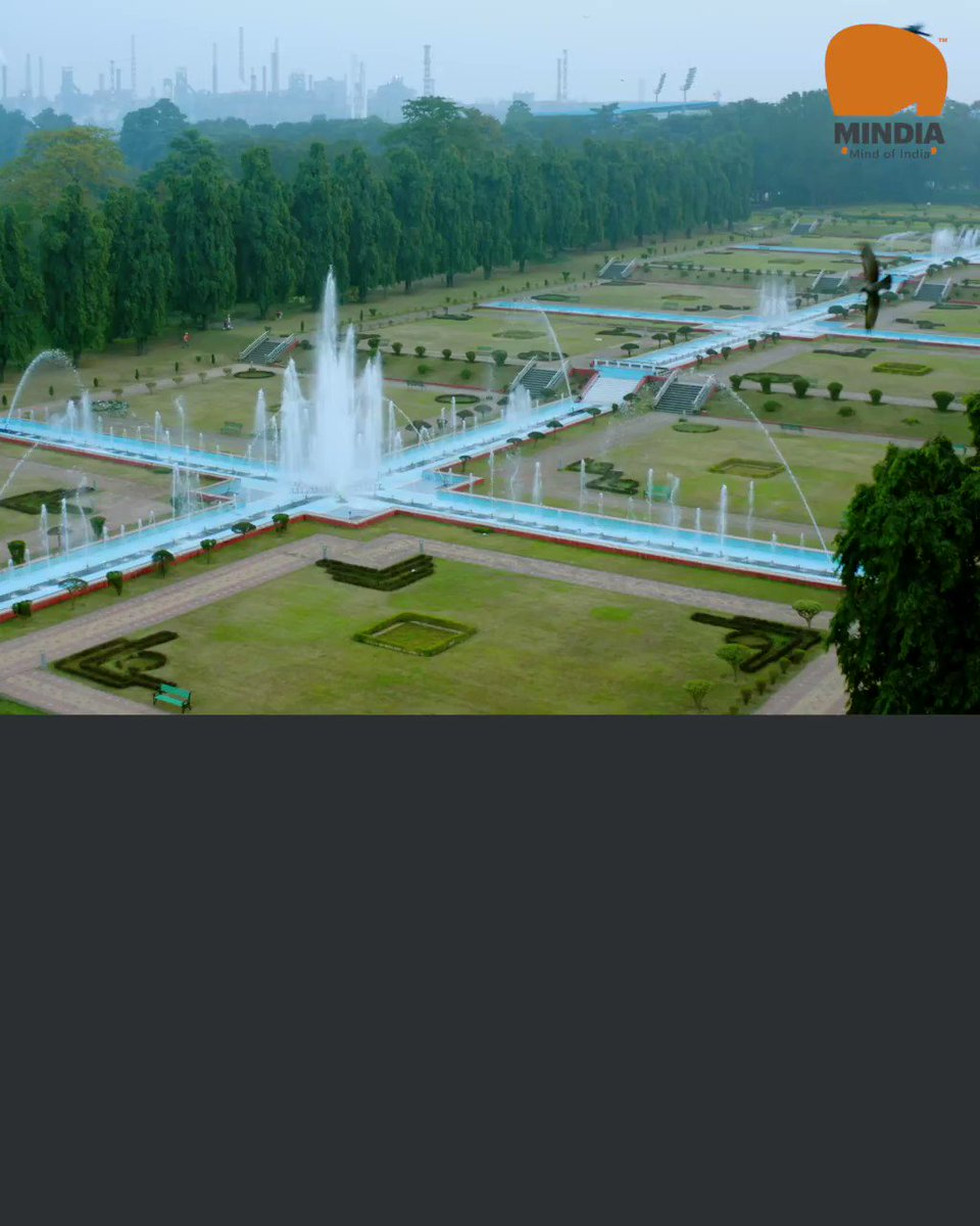 #JubileePark, a gift from #TataSteel Ltd (then TISCO Ltd), to the people of #Jamshedpur ( #Tatanagar) on the occasion of the city's Golden Jubilee in August 1958 by Jamsetji Nusserwanji #Tata.  Subscribe Now -   #travel #placestovisit #MINDIA #mindofindia