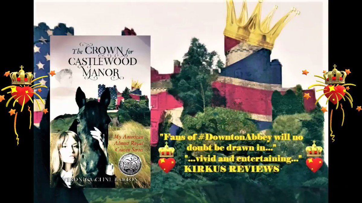 """💖👑The Crown for Castlewood Manor👑💖  """"Fans of #DowntonAbbey will no doubt be drawn in...""""            """"...vivid and entertaining..."""" KIRKUS REVIEWS  #Midnight #NewYearsEve...destiny is revealed...💖👑🕵️♀️🍸 #CozyMystery #Royals #Luxury #Romance #BookLovers #WritersWhoRead #Books"""