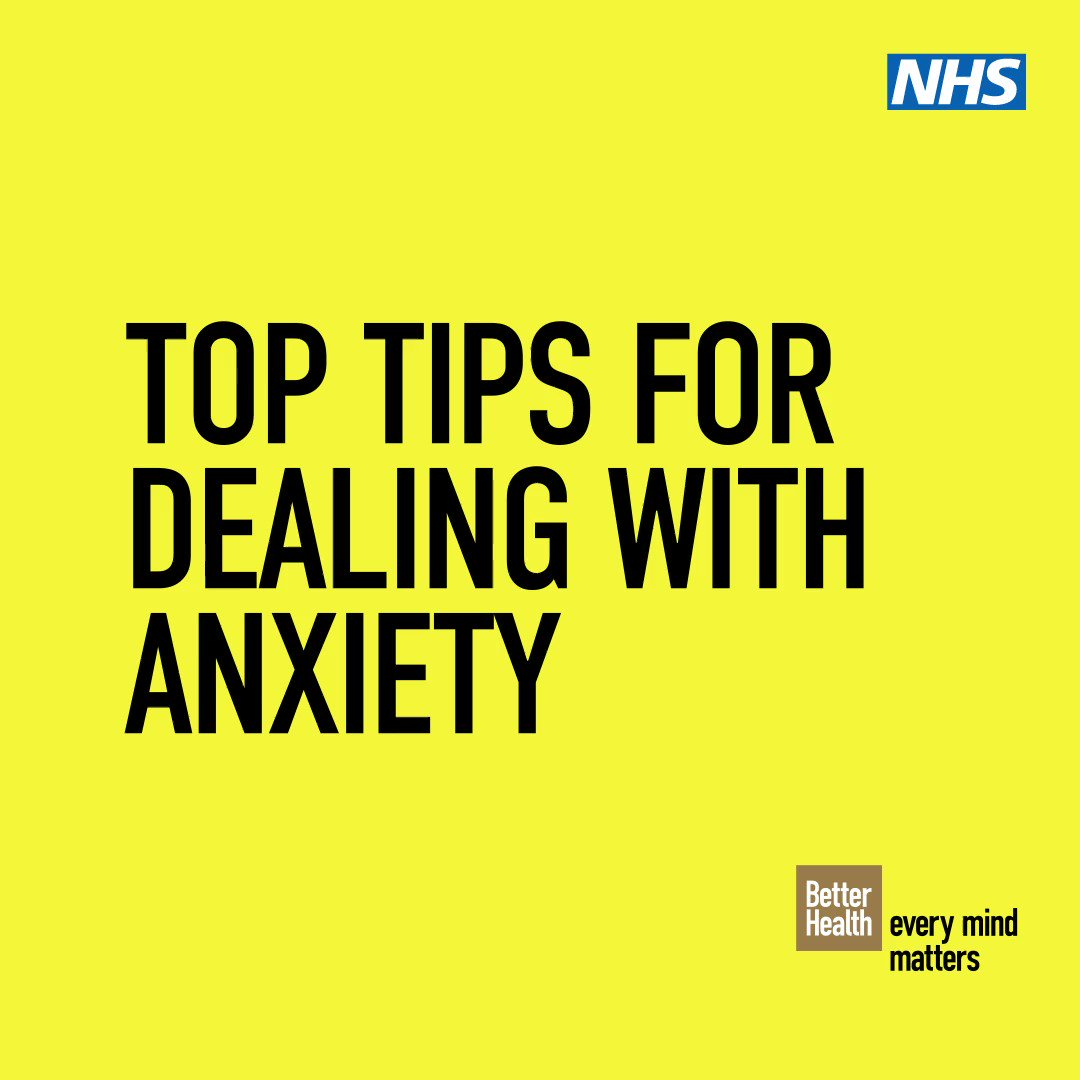 On #bluemonday, there is many things you can do to ease anxiety should you start to experience it.  For more information, please visit: