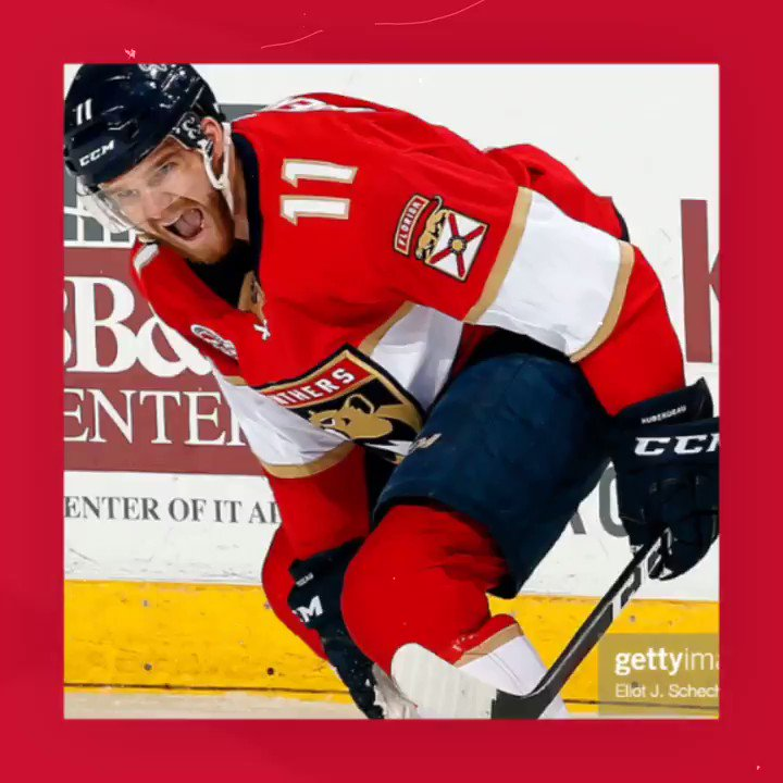 The #FlaPanthers finally played their first game of the season and Jonathan Huberdeau's performance was worth the wait. He had 3 points in his season debut to lead the Cats to 2 points of their own. He's our Fantasy Player of the Night! #FantasyHockey