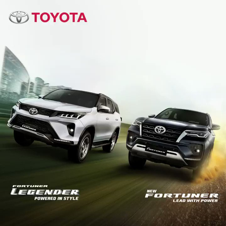 The power to book the powerful new Legender and Fortuner is now at your fingertips. Just tap on the link below and follow the easy steps. E-book now! Visit https://t.co/0BFxesNyUY #PoweredInStyle#LeadWithPower#NewFortuner#Legender#Toyota#ToyotaIndia https://t.co/CKjJi5bkAg