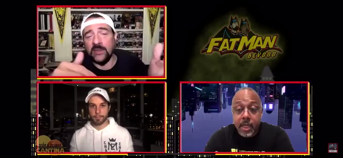I had such a blast with @ThatKevinSmith and @marcbernardin on #FatmanBeyond !Any opportunity to talk theory, dissect, and Fancast (and even throw myself in there) is a perfect way to spend a Saturday. Thanks guys!