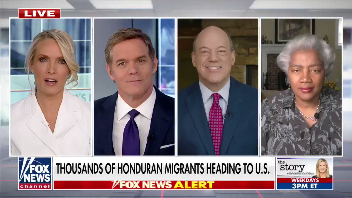 WATCH: @AriFleischer and @donnabrazile on how President-elect Biden will approach immigration as a migrant caravan from Honduras heads toward the U.S. @DanaPerino @BillHemmer