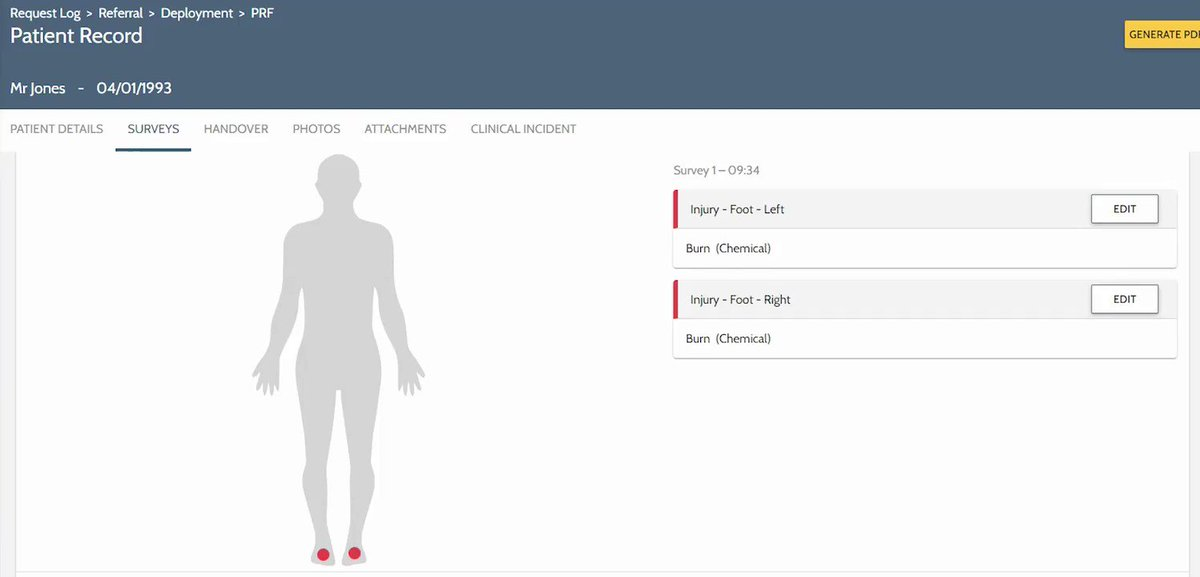 Our patient observation functionality has been intuitively designed so you can quickly record everything you need in an EPRF both online and offline.   Check out this video for a quick peek at how it's done!   Request your demo here ➡️