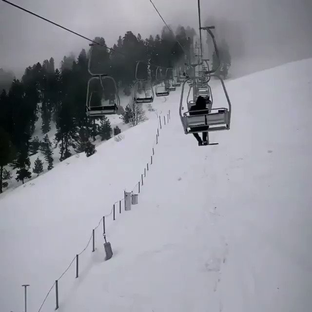 Imagine sitting here and Feeling the Cold Breeze❤.  Malam Jabba Chair Lift.  BOOK Your Slots in Our Upcoming Trip to Malam Jabba and Swat.  23rd-24th Jan.  For Details: 03035098306 @niazi_tourspk  #niazitourspk #K2winter2021  #wednesdaythought  #ARYNews #pakistan #malamjabba