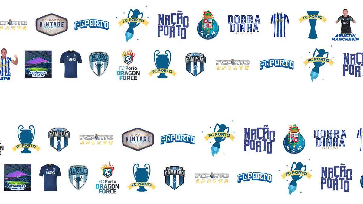 😀 A App FC Porto tem uma nova coleção de stickers para o Whatsapp que podes partilhar com os teus amigos ⚽ Por que esperas? 👉  #FCPorto #AppFCPorto