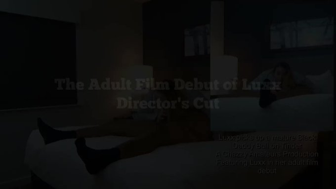 Director's Cut Adult Film Debut of Luxx by GentlemanChazzy @manyvids https://t.co/ZUF0LjXe9L https://t