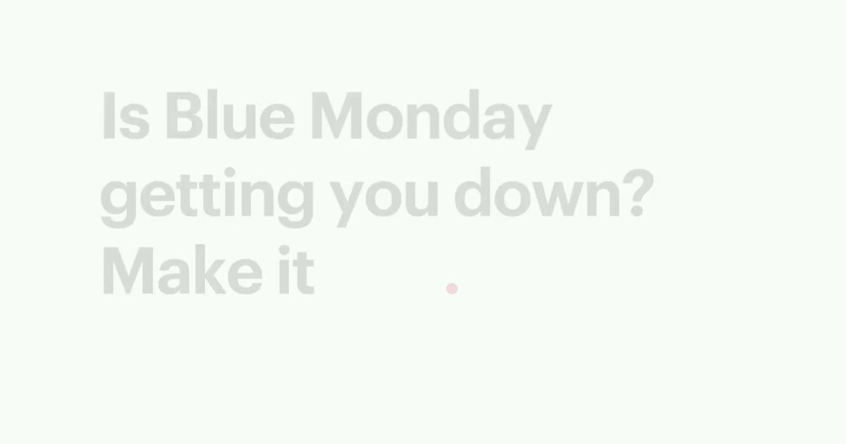 Is Blue Monday getting you down? 🔴 Make it RED. 🔴  #BlueMonday #REDmonday #IESE