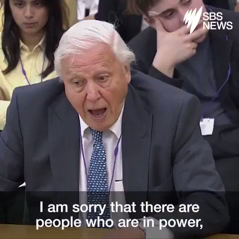 """""""We cannot be radical enough in dealing with (this crisis).""""  ~Sir David Attenborough  We have the solutions, let's implement them.   #ActOnClimate #climate #energy #go100re #GreenNewDeal #JustRecovery"""