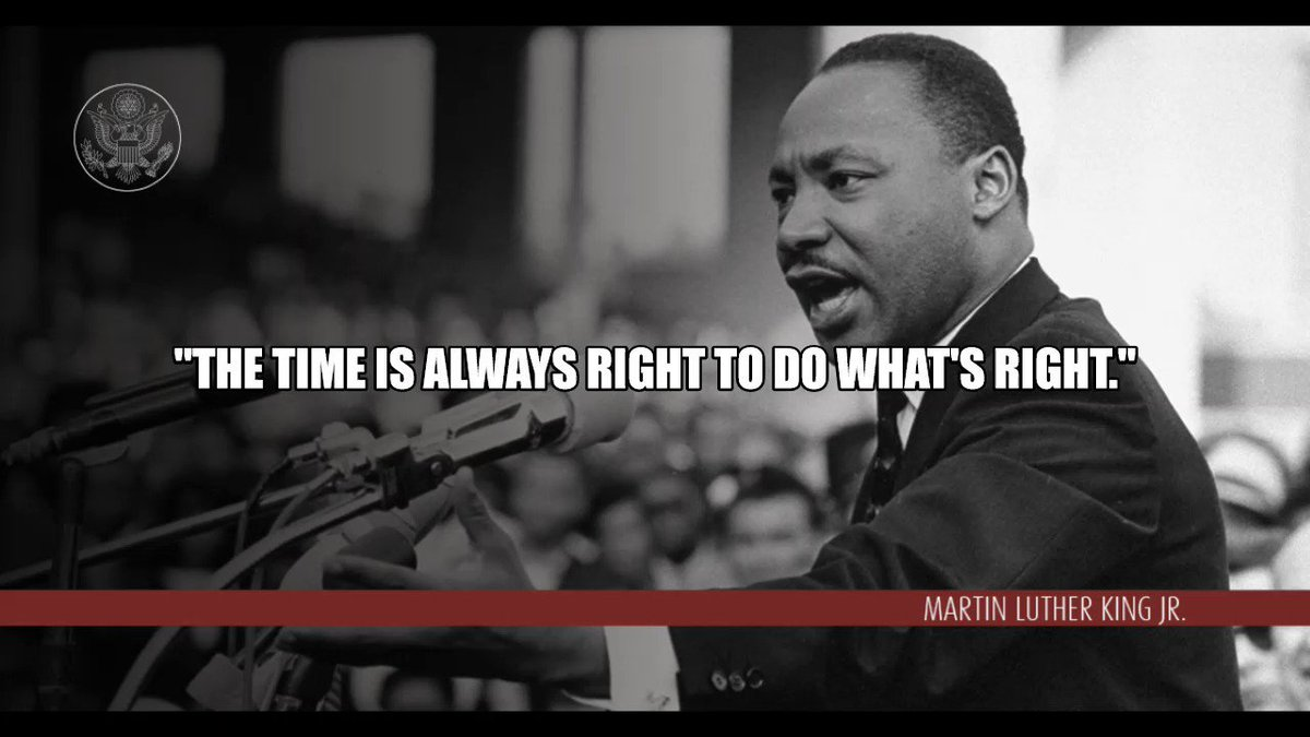 """In the words of Martin Luther King, Jr., """"the time is always right to do what's right."""" Now is the right time for the government of #Uganda to stop harassing political opponents, ensure their fundamental rights, and recognize their essential contribution to Ugandan society."""