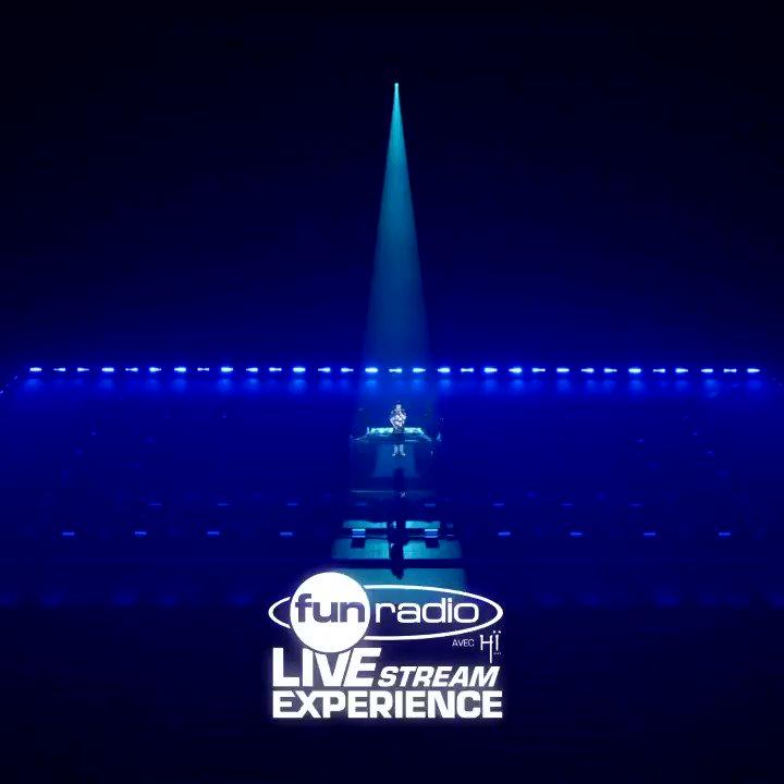 #FunRadioLiveStreamExperience 👉 MERCI à tous pour cette soirée ! Rendez-vous sur  et sur @W9 demain soir à 23H30 pour revivre le show ♥️