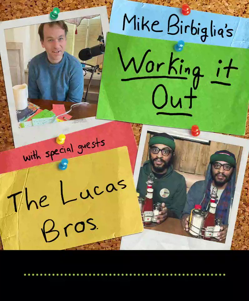 "This week @lucasbros join me for an episode that alternates between serious & silly. They discuss their moving @vulture  essay ""Our Brother Kaizen,"" as well as sharing jokes in process and the difference between writing a will and meeting Will Smith."