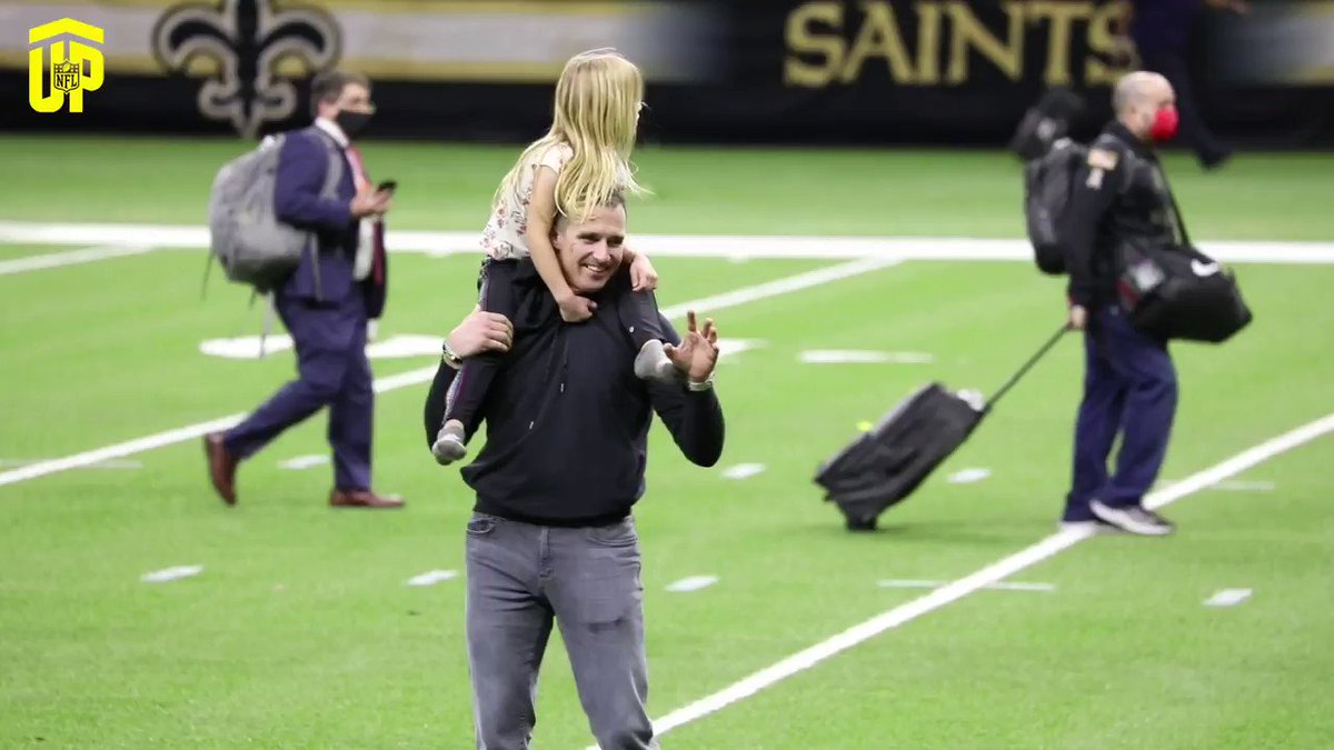 Always a dad @drewbrees @Saints
