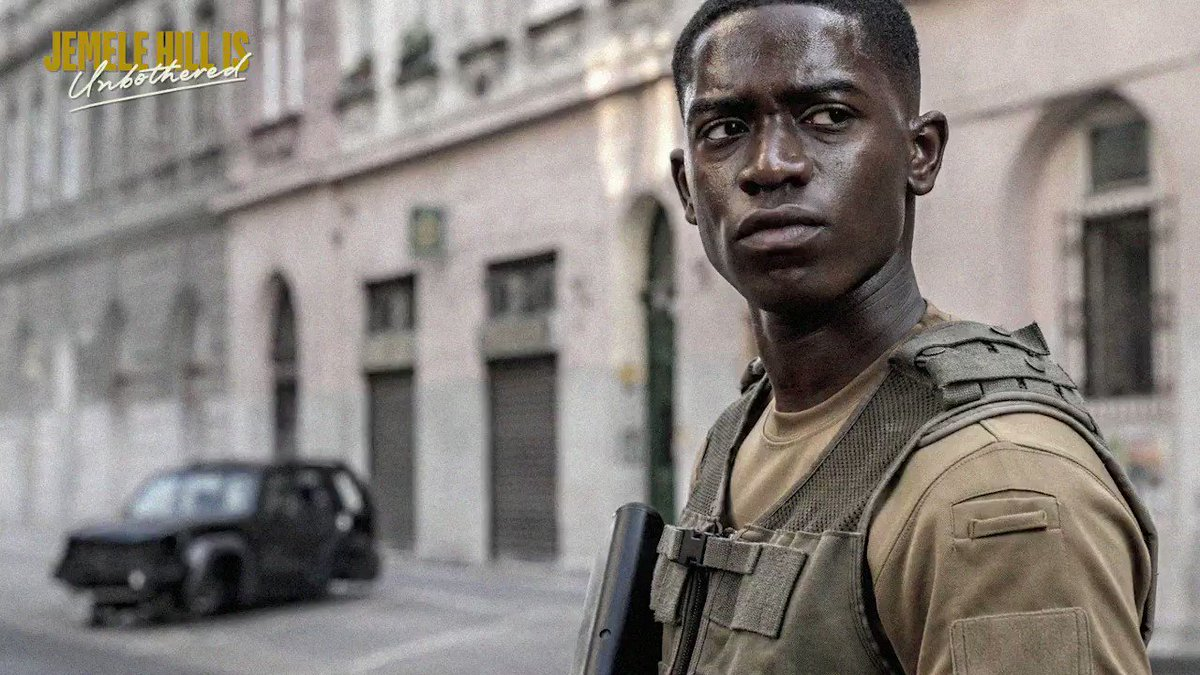 """""""It's a movie, especially for young people, where they're going to be able to believe that they can do anything.""""  Actor @damsonidris joins @jemelehill to discuss his new Netflix movie #OutsidetheWire. Listen:"""