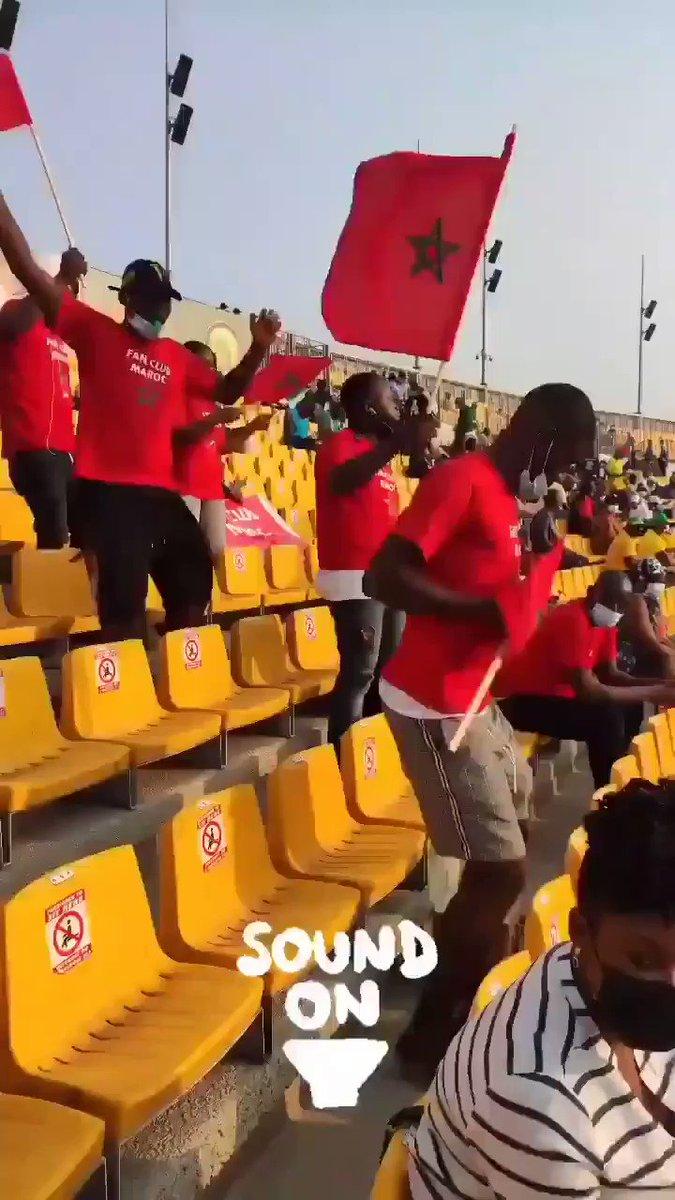 افتتح المنتخب المغربي أولى مبارياته في بطولة كأس أمم أفريقيا للاعبين المحليين بفوز هام على منتخب توغو ب 1:0 ولكن ما جعلني افتخر كثيرا هو ان #المغرب استطاع ان يحتل #افريقيا وقلوب الأفارقة #المغرب_الطوغو #الصحراء_قضية_40مليون_مغربي