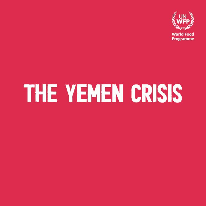 #YemenCrisis: 9M people in #Yemen receive only half rations now. But on February 1st, because of the lack of funds, @WFP will be forced to cut rations to 25%.  We must come together to help this shattered nation rebuild itself—and that starts with averting a catastrophic famine.