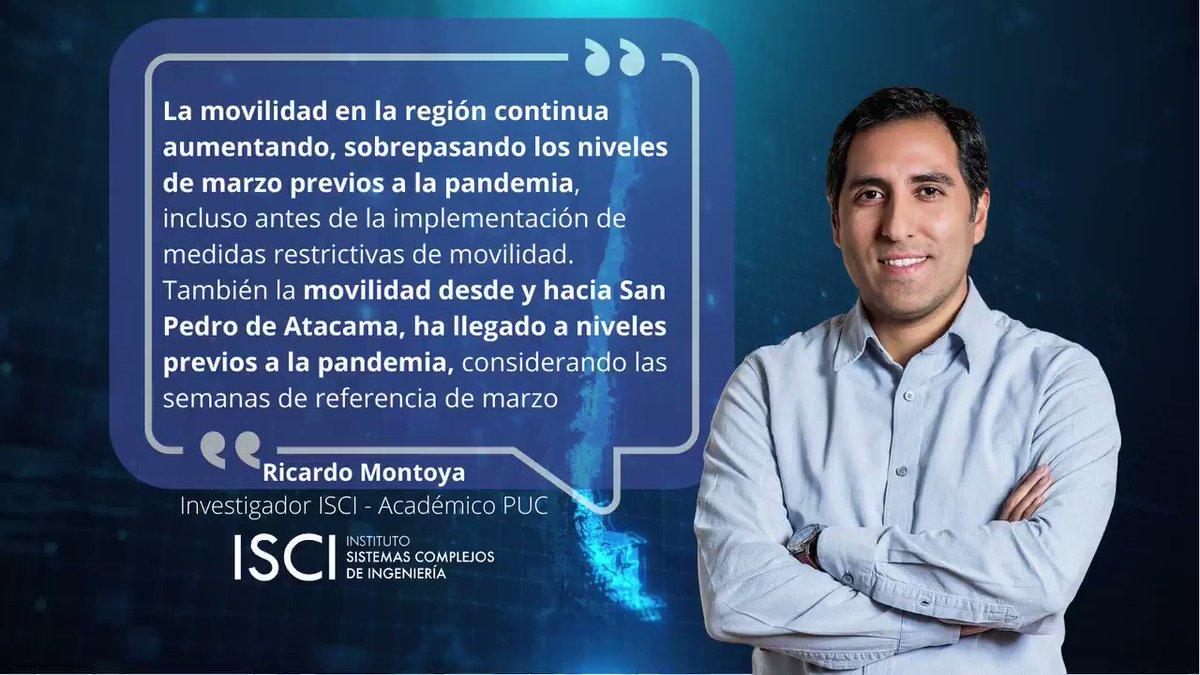Image for the Tweet beginning: Nuevo reporte de #movilidad de