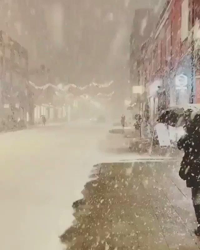 #النرويج #norway 🇳🇴 ♥ #Snowing