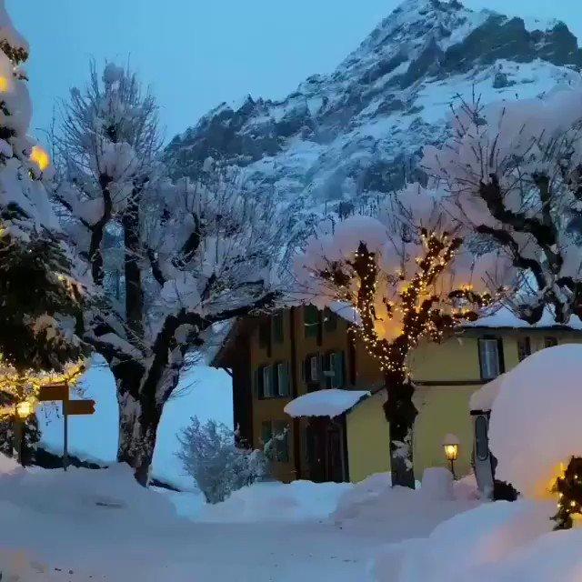 #visitswitzerland #Geneva #Snowing #snowfall