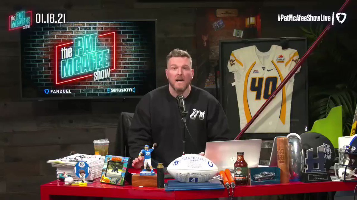 Overreaction Monday @PatMcAfeeShow 2.0 podcast  ▫️@AllenLazard chats about the Packers win over the Rams ▫️@RapSheet dives into the Deshaun Watson situation & much more ▫️Pat & @OfficialAJHawk share their thoughts on the Conference Championship matchups
