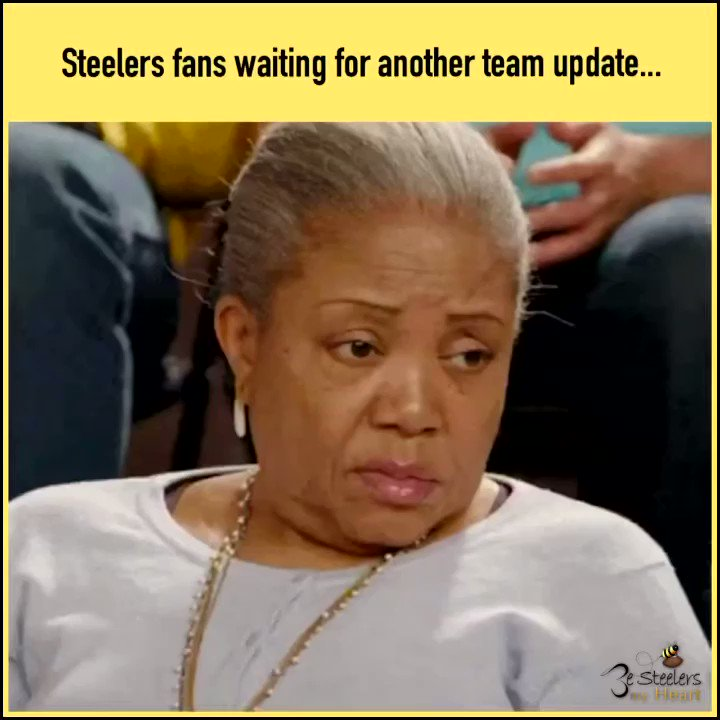 We ain't heard nuthin about nuthin. So many BIG announcements today from other NFL teams. We stay stalling 😅 Cmon Steelers, what y'all got goin on?! ✨ #Steelers #HereWeGo