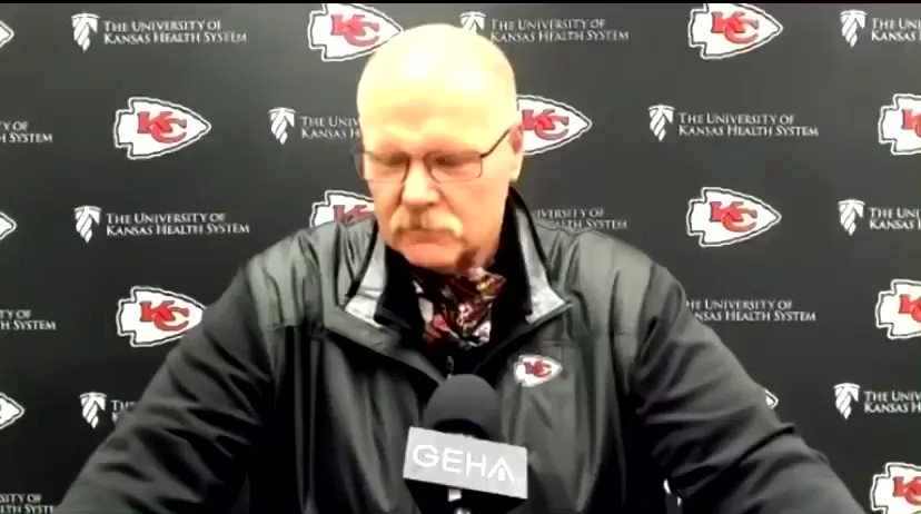 "#Chiefs HC Andy Reid on Eric Bieniemy still not having a HC job: ""Maybe the best thing I could tell you is I hope he goes to the NFC. Whoever gets him, I think is a very lucky organization. ... Somebody I would have loved for my son to have played for."""