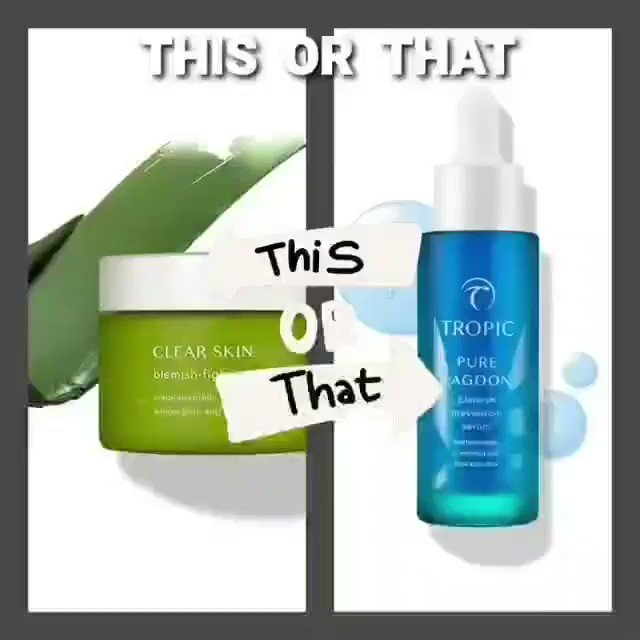 Are you a Mask or Serum?  SHOP ONLINE NOW AT...