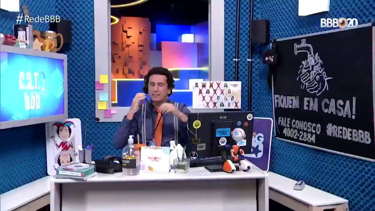 Passando pra dizer que até hoje eu passo mal de rir com as interpretações da @marigonzalez! 😂 Quem aí tá animado pro #BBB21? 🤩 Tá chegando! #RedeBBB