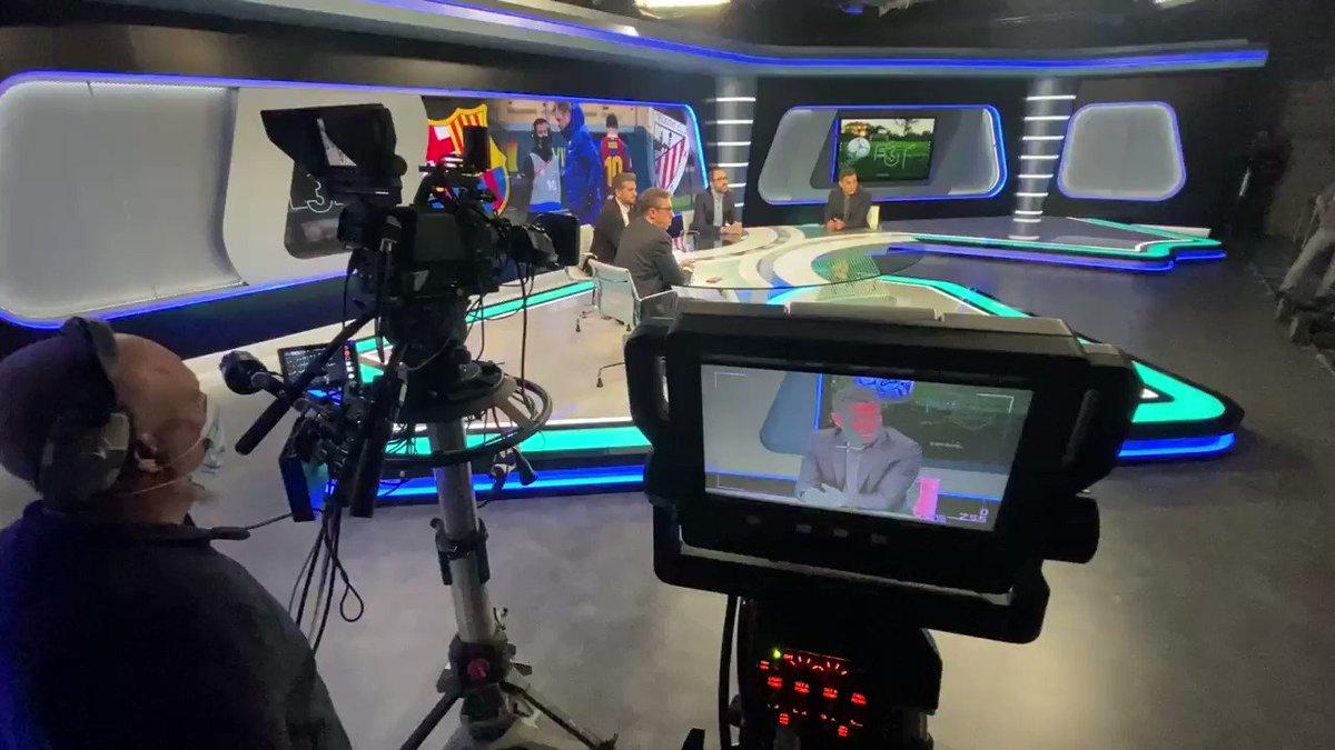 Arrancando semana con El3Tiempo @MovistarPlus @MovistarFutbol #Vamos
