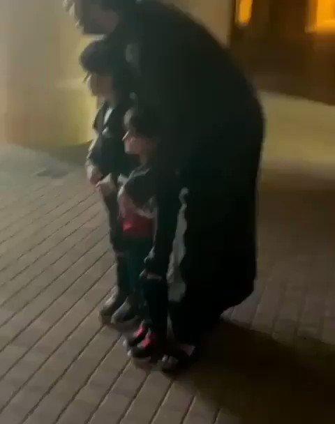 🎥   #فيديو  رئيس #هيئة_الترفيه تركي آل الشيخ في لقاء عفوي مع اطفال من #قطر بالرياض.  • #السعودية