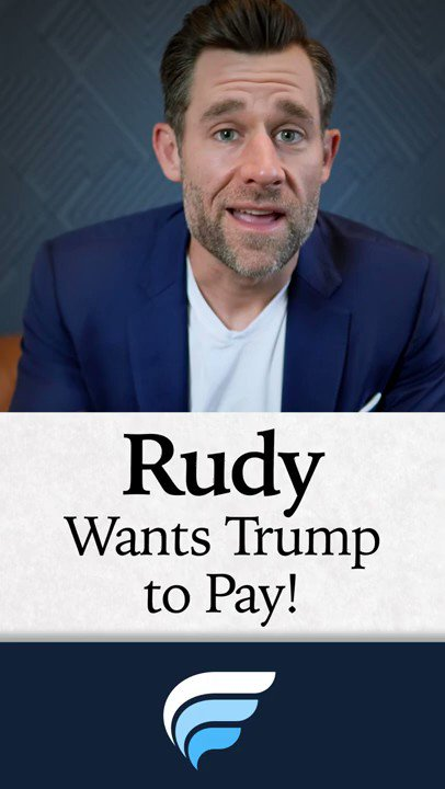 Trump refuses to pay #RudyGiuliani's $20,000 a day fee 😂  On a good day Rudy is worth $20
