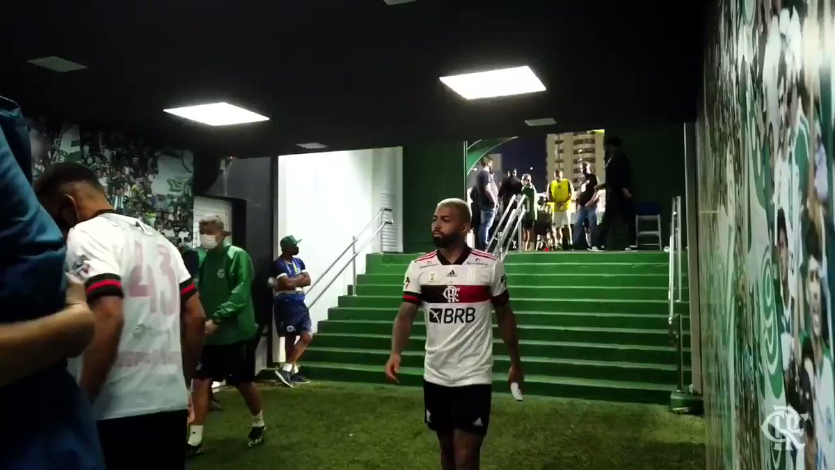 O @gabigol avisou pro estagiário antes do jogo que ia ter gol. E teve! 😂👊  Ele avisou, ele avisou! CRAQUE! 💪9️⃣ #VamosFlamengo