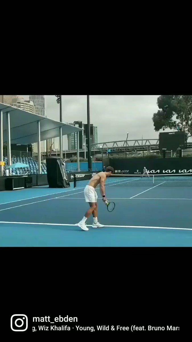 grateful 🙏 #ausopen #AO21 #tennis #melbourne #australia #quarantine