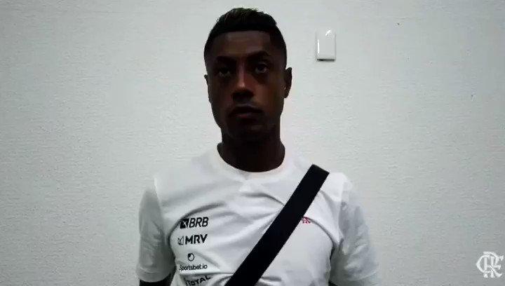 O craque @Brunohenrique projetou os próximos jogos do Mengão no Brasileirão! Vamos com tudo! 💪❤️🖤  #CRF #VamosFlamengo