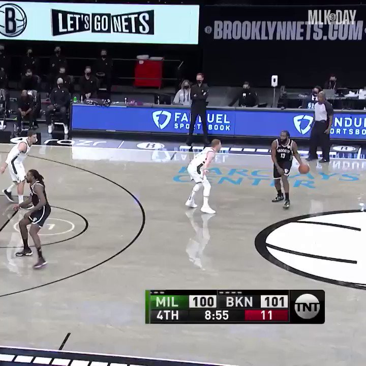 Harden with the lethal dribble package 🔥  (via @BrooklynNets)