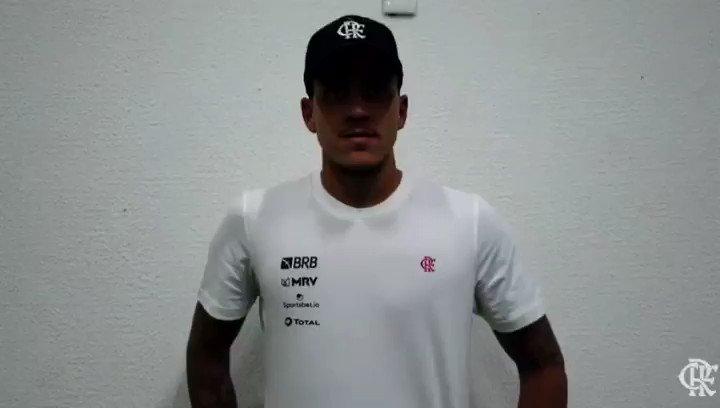 Tá contigo a palavra, artilheiro @Pedro9oficial!   #CRF #VamosFlamengo