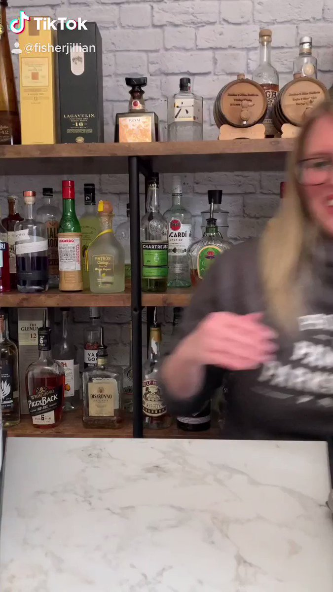 """Replying to @FisherJillian: Making the perfect """"cocktail"""" for Leslie Knope. This may be one of my most creative ideas yet 🧇🧇🧇"""