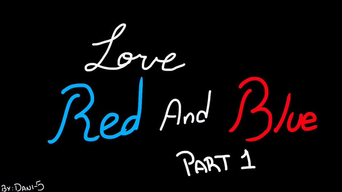 Hola a todos aqui les traigo un pequeño animatic, feito, la primera parte de Love Red and Blue, fue trabajito para una clase de la uni jsjs, es la primera vez que hago una animacion como esta, asi que me disculpo por los dibujitos medio feito jeje, espero les guste 😅❤️💙