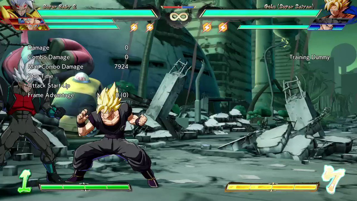 #DBFZ_SB2 #dbfz_bby #superbaby2 #baby #vegeta #combo #purplerain baby mode easy purple rain loops.. anyway support the channel watch it on youtube as well as all this other stuff