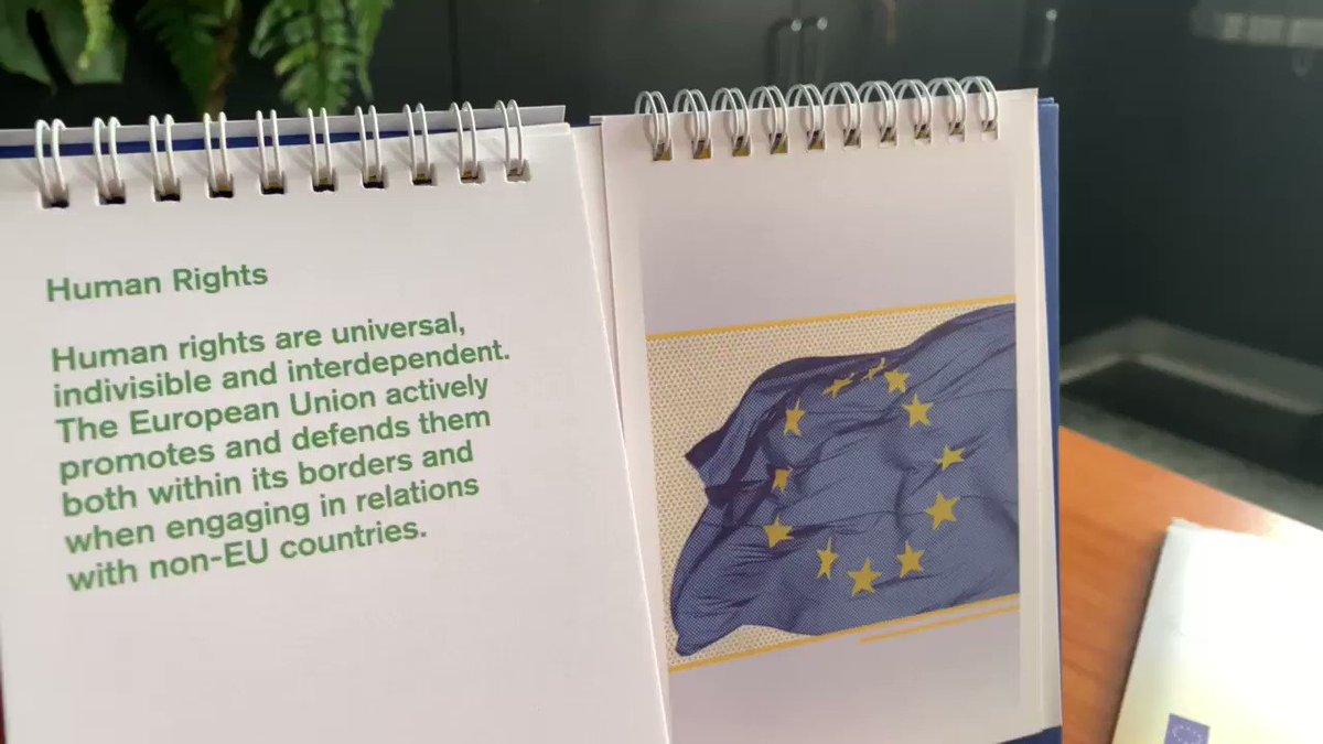 It's a new year but still sharing the same values @EUinThailand #HumanRights #democracy