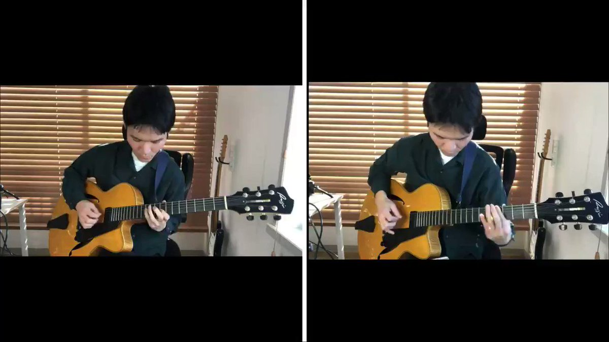 ずっと真夜中でいいのに。の「秒針を噛む」をギター2本で演奏してみました!Youtubeにあげた長いバージョン→