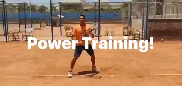 Use the Edge Power Trainer to isolate your tennis specific muscles, hit harder with greater control! We guarantee it! #tennistraining #tenniscoach #ao2021 #tennis #atptour #wta #itf #ita atp