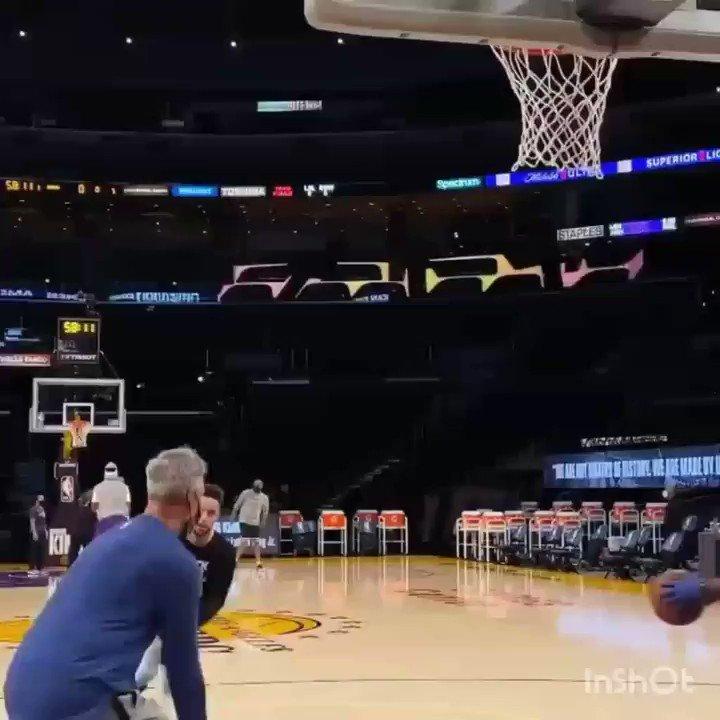 Steph'in ısınmadaki bazı hareketleri  #Curry #curry8 #Training #NBA #basketball #VIDEO #GOAT