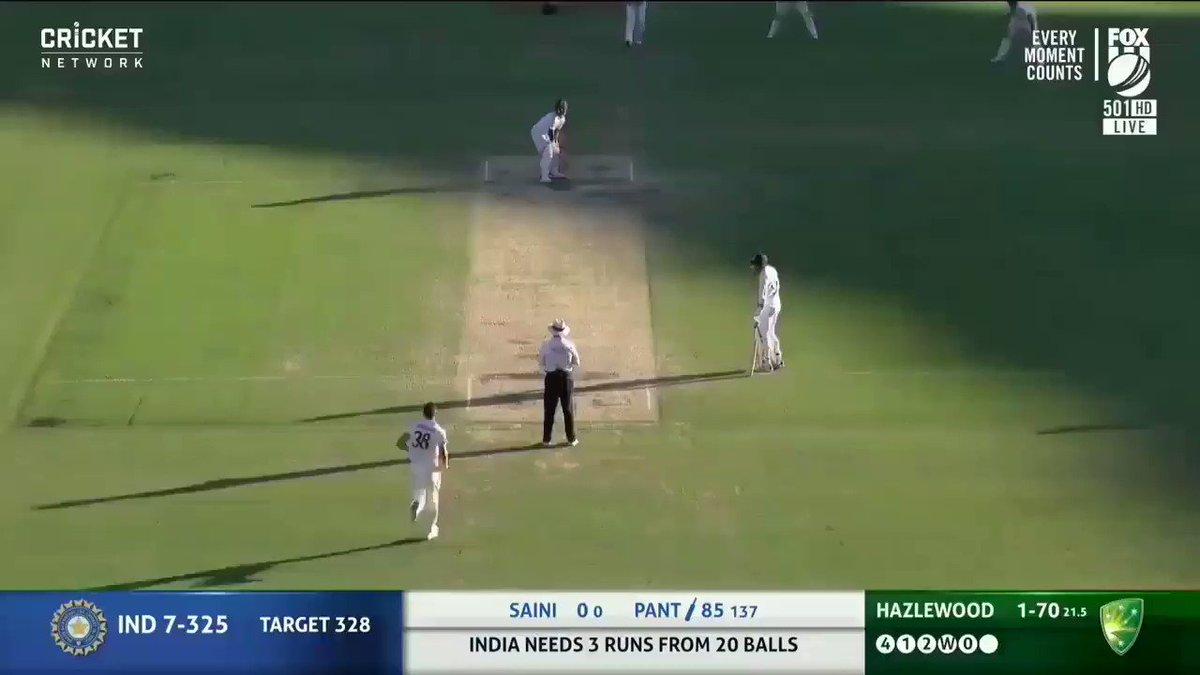 Well done #TeamIndia ❤️ Proud moment 🇮🇳🇮🇳👏👏 #AUSvIND #AUSvsIND #AUSvINDtest #GabbaTest