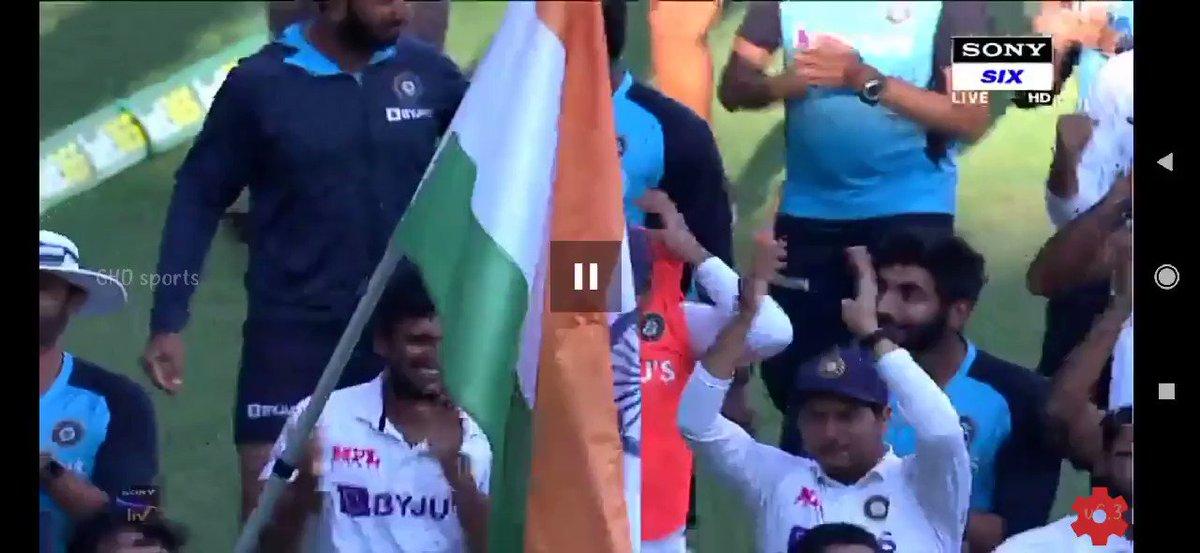 Greatest Win Ever..🇮🇳#TeamIndia @ajinkyarahane88 @RishabhPant17