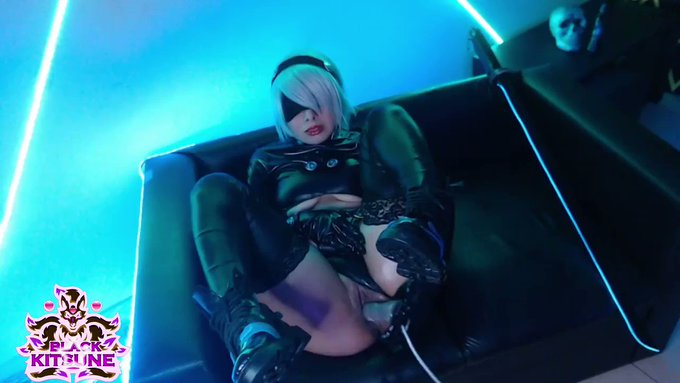 new video of 2B with the Gantz suit, come see it complete in my ManyVids!!!😘💋💋💗 https://t.co/IKkbfjO