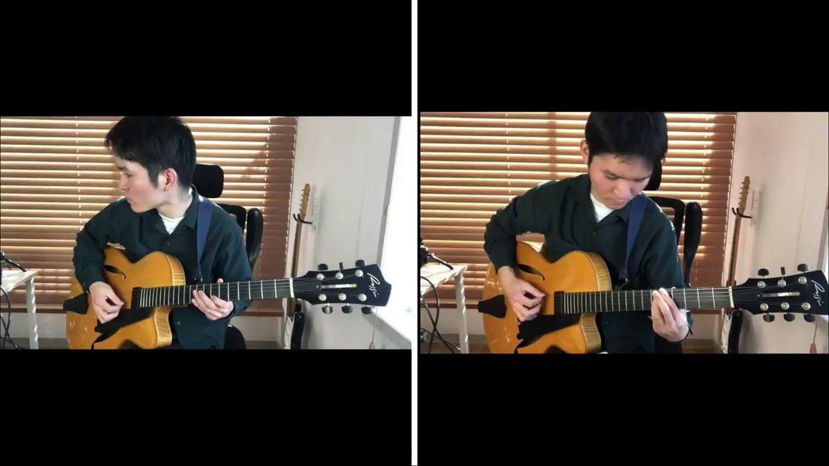ずっと真夜中でいいのに。の「秒針を噛む」をギター2本で演奏してみました!Youtubeにあげたバージョン→