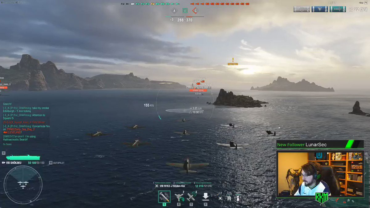 Got some more #WorldOfWarships today! Gunna be flying in our planes today as we work on more Dockyard quests! Come hang out here! >>>  (We are also on #glimesh at !)  #twitch @WorldofWarships #tuesdaymotivations #tuesdayvibe #gaming